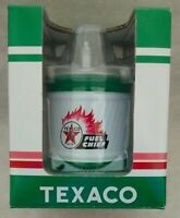 TEXACO FUEL CHIEF HEATING OIL REPLICA KEROSENE CAN BANK - First Gear - #89-0187