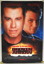 BROKEN ARROW DS ROLLED ADV ORIG 1SH MOVIE POSTER JOHN TRAVOLTA HOWIE LONG (1996)