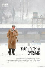 Motty's Year - John Motson Footballing Year - Euro 2004 Portugal - England book