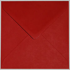 "Superb Quality 155mm x 155mm Square (6"") 100GSM Envelopes-Choice of Colour & Qty"