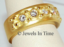 5 Diamond Ladies Ring 18k Yellow Gold Doris Panos 6.50