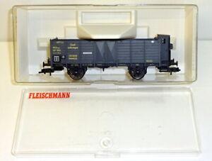 "Fleischmann H0 5886 K Güterwagen 0mmk ""Elsaß Lothringen 103859"" OVP JU3526"