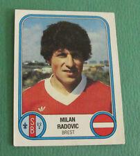 N°67 MILAN RADOVIC BREST STADE BRESTOIS SB PANINI FOOTBALL 83 1982-1983