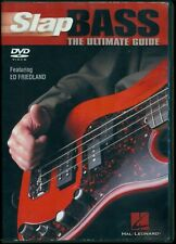 Ed Friedland SLAP BASS The Ultimate Guide DVD Instructional + Orig 41 page Guide