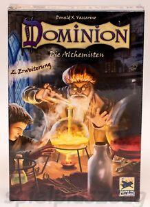 Dominion 2. Erweiterung Die Alchemisten Hans im Glück NEU B-Ware
