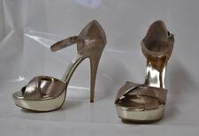 """Audrey Brooke """"Evelyn"""" hi-heel platform sandal - Size 11, w/6"""" heel - New"""