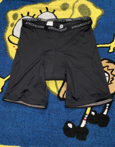 Specialized Cycle Shorts Size XL Polyester/Lycra black Body Geometry pad