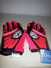 Troy Lee Designs Racing Glove Grand Prix red and black XS
