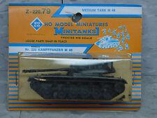 Roco Minitanks / Herpa (New) Modern US M-48 Medium Main Battle Tank Lot # 1272