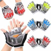 Bicycle Gloves Outdoor Bike Riding Half Finger Cycling Summer Sports Fitness