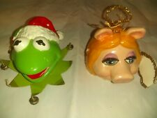 Vin Muppet Baby Material Ornaments 1985 Piggy Kermit And Gonzo