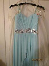 Auqamarine/green Juniors prom dress size 9
