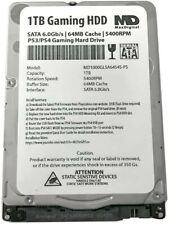 """MaxDigitalData 1TB 64MB Cache 5400RPM SATA 6.0Gb/s 2.5"""" 7MM Gaming Hard Drive"""