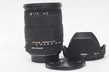 Sigma AF 18-200mm f3.5-6.3 DC OS HSM Lens Canon EF                          #311