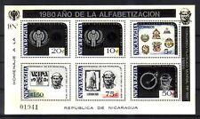 Nicaragua  Michelnummer Block 124 postfrisch ( Hill : 22 )