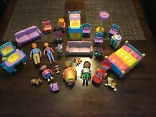 Dora The Explorer Dollhouse Furniture Accessories Figures Lot Of 25