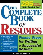 The Complete Book of Resumes: Simple Steps for Wri