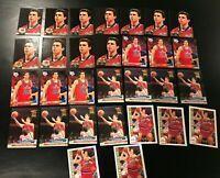 1992-93 Tom Gugliotta Rookie Card lot (30) NC STATE