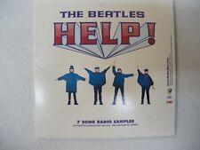 Beatles  Help!  7-song radio sampler CD
