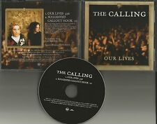 THE CALLING Our Lives 2004 USA RARE PROMO Radio DJ CD single MINT RDJ57112
