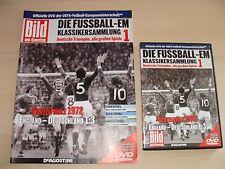 Fussball EM Klassikersammlung Zeitschrift Bild DVD # 1 Viertelfinale 1972 Englan
