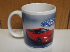 Coffee Mug Ford Mustang GT 5.0 Coyote Engine 2015 2016 2017 Cocoa Cup Tea NOS 17