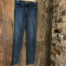 J BRAND Jeans SUPER SKINNY Blue bell Jeans Size 24x29 Ankle Stretch