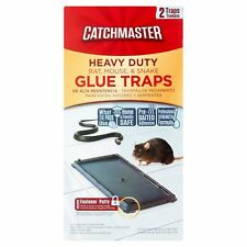 Catchmaster Non-Toxic Heavy Duty Baited Rat Snake Mouse Glue Trap
