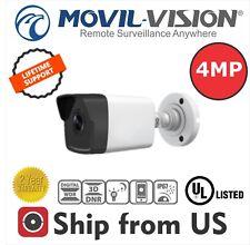 4MP IP Bullet Camera PoE 2.8mm 30m IRWDR IP67 UL HIKVISION White Label IPC-B1041