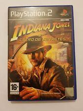 Indiana Jones y el Cetro de los Reyes PlayStation 2 (ps2) pal España y completo