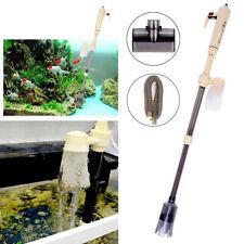 Electric Aquarium Cleaner Syphon Fish Tank Pump Vacuum Gravel Water Filter New