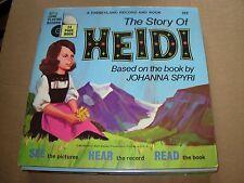 "WALT DISNEY heidi ( children ) - 7"" / 45 - booklet -"