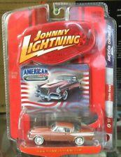 Johnny Lightning American Chrome R2 57 Studebaker Hawk Golden 1957 Salmon RARE