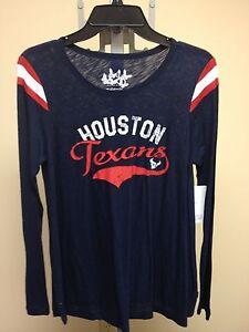Houston Texans MATERNITY Navy Championship Tee Sample Med Touch by Alyssa Milano