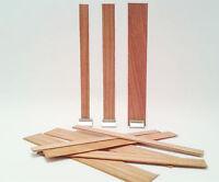 50bougies en bois de mèche de noyau faisant des fournitures avec des supports B2