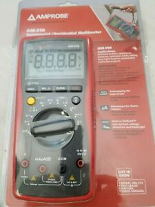 Amprobe AM-510 Commercial/Residential Multimeter with Non-Contact Voltage