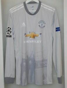 Match worn shirt Manchester United England national team Champions League