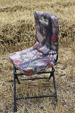 STURDY Camouflage Hunting 360 Swivel Seat Pigeon Shooting Rotating Chair Stool