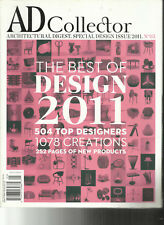AD ARCHITECTURAL DIGEST MAGAZINE,  SPECIAL DESIGN    ISSUE, 2011   NO. 05