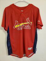 Majestic Baseball MLB Jersey St. Louis Cardinals Albert Pujols #5 Youth Size XL