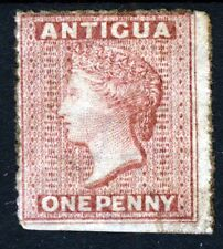 ANTIGUA Queen Victoria 1863 1d. Rosy Mauve Perf 14 Wmk Small Star SG 5 MINT