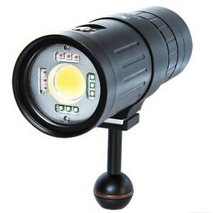 Scubalamp P53 LED Video/Photo Strobe Light - 5000 lumens