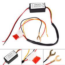 Neu DRL Auto Smart LED Tagfahrlicht Relais Harness Dimmer On / Off Controller 5A