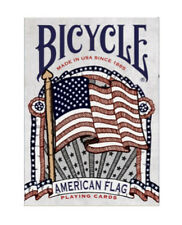 Bicycle New American Flag Deck of Poker Size Playing Cards Hand Drawn Style