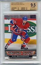 2013-14 UPPER DECK YOUNG GUNS #203 ALEX GALCHENYUK R/C BGS 9.5 W/ QUAD 9.5 SUBS
