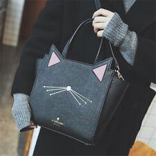 Korean Style Cat Ears Leather Women Handbag Leather Shoulder Message Bag Gifts
