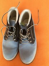 TIMBERLAND SKY BLUE LEATHER ANKLE BOOTS,UK 8.5,IN SUPER CONDITION