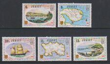 Jersey - 1976, Liens Avec Canada Ensemble - MNH - Sg 190/4