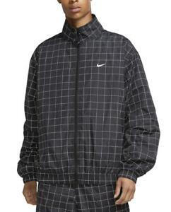 Nike Lab Sportswear Flash Track Jacket Windbreaker (Black/Checkered) CV0556-010