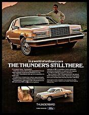 1981 FORD THUNDERBIRD Classic Car Photo AD